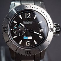 Jaeger-LeCoultre Master Compressor Diving GMT Titán 44mm Fekete Arab