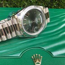 Rolex Day-Date 40 Anniversary Green Dial