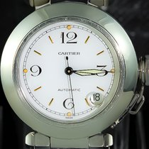 Cartier Pasha C Date - Automatic Stainless Steel 2324