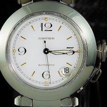 Cartier Pasha C Acél 35mm Fehér Arab
