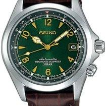 Seiko Spirit Steel 38mm Green Arabic numerals