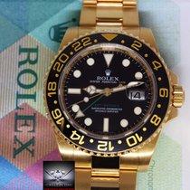Rolex GMT-MASTER II 18k Yellow Gold & Ceramic Mens Watch & Box...