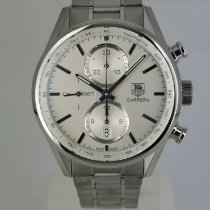 TAG Heuer Carrera Calibre 1887 Acero 41mm Plata