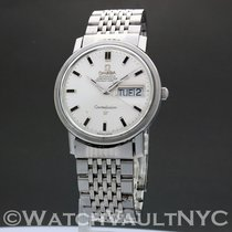 Omega Constellation Day-Date Steel 34mm Silver United States of America, New York, White Plains