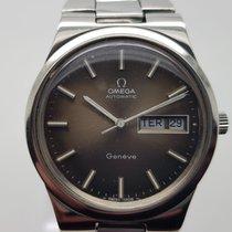Omega Genève Steel 36mm Brown No numerals United Kingdom, BANGOR ,  CO.DOWN , Northern Ireland