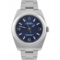 Rolex Oyster Perpetual 36 Acero 36mm Azul