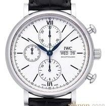 IWC Chronograf 42mm Automatika 2018 nové Portofino Chronograph Bílá