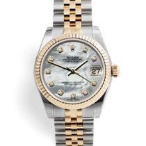 Rolex Lady-Datejust Gold/Steel 31mm Mother of pearl United Kingdom, London