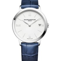 Baume & Mercier Steel 36.5mm Quartz M0A10355 new