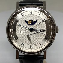 Breguet new Automatic Power Reserve Display 39mm White gold Sapphire crystal