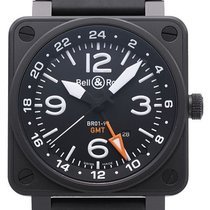 Bell & Ross BR 01-93 GMT 46mm Negru