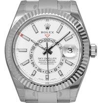 Rolex Sky-Dweller Acero 42mm Blanco