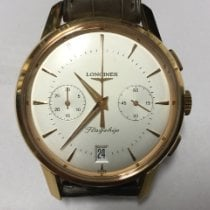 Longines Flagship Heritage Rose gold 38mm Silver