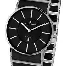 Jacques Lemans High Tech Ceramic York Steel 38mm