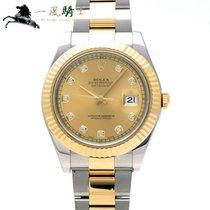 Rolex Datejust II Acier Champagne