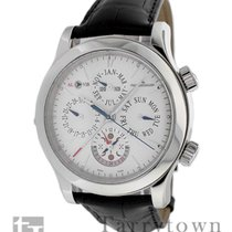 Jaeger-LeCoultre Master Grand Réveil Steel 43mm Silver United States of America, New York, Hartsdale