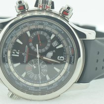 Jaeger-LeCoultre Master Compressor Extreme World Chronograph Steel 46.3mm Black Arabic numerals United States of America, New York, Greenvale