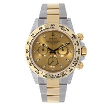 Rolex DAYTONA Steel & 18K Yellow Gold Champagne Dial 116503