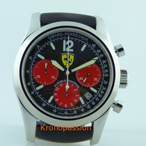Girard Perregaux Steel Automatic Black No numerals 40mm pre-owned Ferrari