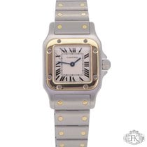 Cartier Santos Galbée | Ladies Size Lady Steel and Gold | Galbee