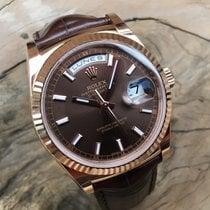 Rolex Day-Date Or rose Brun Belgique, BRUXELLES