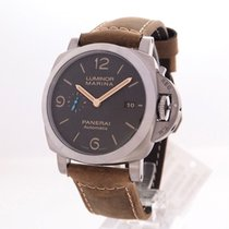 Panerai Титан Автоподзавод 44mm новые Luminor Marina 1950 3 Days Automatic