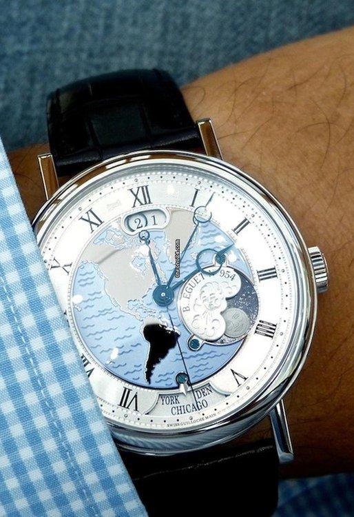 Breguet Classique 5727 - Hora Mundi - 43mm Watches