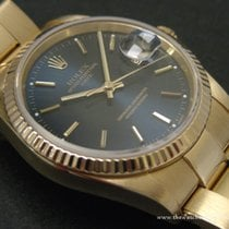 Rolex Modern: Rare Oyster Perpetual Datejust Yellow Gold...