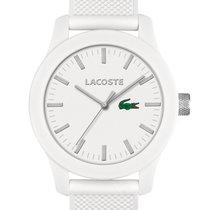 Lacoste 2010762 Unisex Uhr weiß Silikon 42 mm