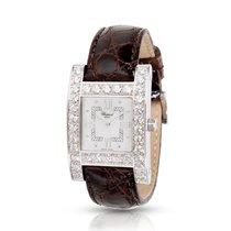 Chopard H-Diamond 13/6621 Quartz 18kt White Gold Woman's Watch