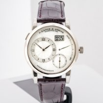 A. Lange & Söhne White gold Manual winding pre-owned Lange 1