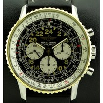 Breitling Navitimer Cosmonaute Gold/Steel 40mm Black Arabic numerals
