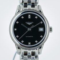 Longines Flagship, L4.274.4.57.6, Ladies, Dia Dial, Stainless...