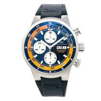 IWC Cousteau Divers Iw378101 Men Automatic Watch Blue Dial...