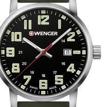 Wenger 42mm Quartz new Black