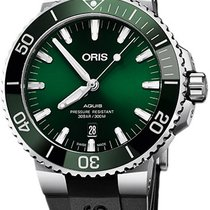 Oris Aquis Date Steel 43.5mm Green United States of America, New York, Airmont