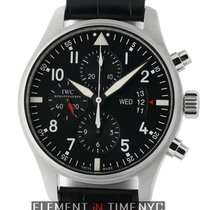 IWC IW3777-01 Steel 2012 Pilot Chronograph 43mm pre-owned United States of America, New York, New York