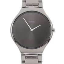 Rado True Thinline Ceramic 39mm Black No numerals