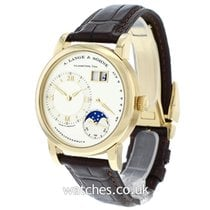 A. Lange & Söhne Lange 1 pre-owned 38.5mm Yellow gold