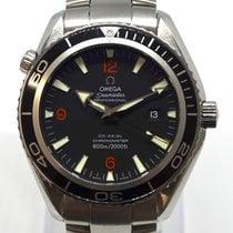 Omega 2200.51.00 Stahl 2008 Seamaster Planet Ocean 45,5mm gebraucht Deutschland, Freiburg-Gundelfingen