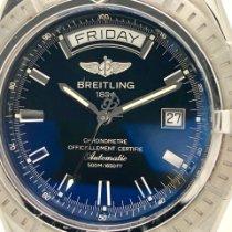 Breitling Headwind Steel 42mm Black No numerals