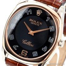Rolex Cellini Danaos Weißgold 33mm Schwarz Arabisch Deutschland, Gröbenzell