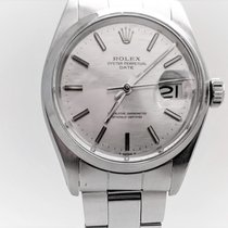 Rolex Oyster Perpetual Date Steel 34mm Silver No numerals United States of America, Colorado, Wellington