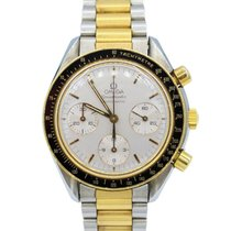 Omega Speedmaster Two-Tone 18k Yellow Gold 39mm Men's Automati...