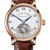 A. Lange & Söhne Rose gold Manual winding Silver Arabic numerals 39.5mm new 1815