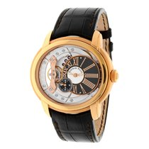 Audemars Piguet Millenary 4101 18K Rose Gold Skeleton 15350OR....