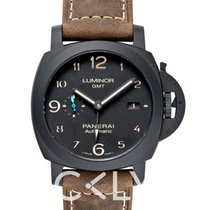 Panerai LUMINOR 1950 3 DAYS GMT AUTOMATIC CERAMICA - 44MM -...