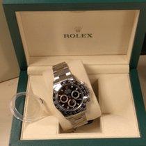 Rolex Daytona ACIER FOND NOIR disponible