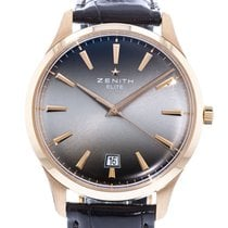 Zenith Captain Central Second Rose gold 40mm Grey United States of America, Georgia, Atlanta