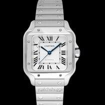 Cartier Santos (submodel) Сталь 35.1mm Cеребро